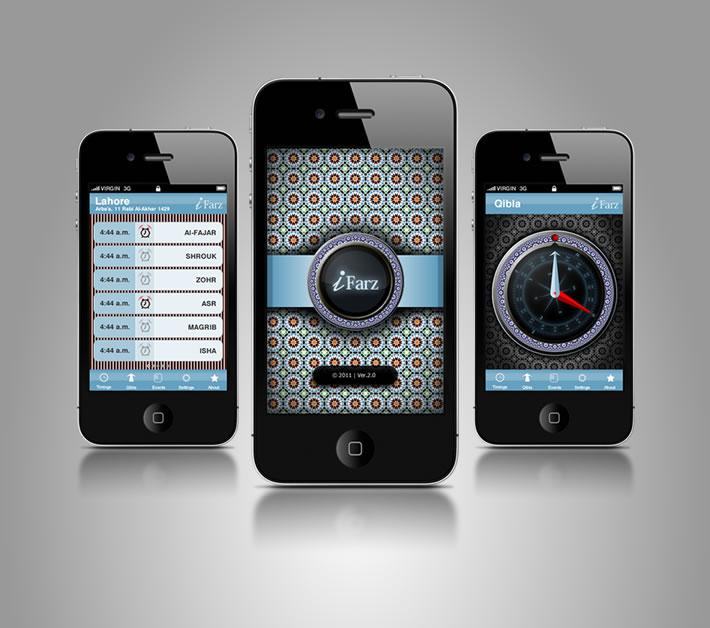 iFarz - iPhone Apllication Design