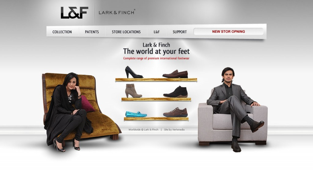 Lark & Finch - Website Design