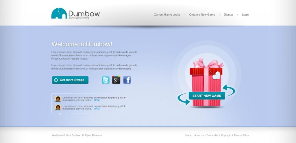 Dumbow - Online White Elephant Game