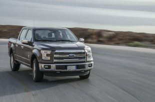 Ford follows path of T.E. Lawrence - Ford F-150 Dead Sea Jordan