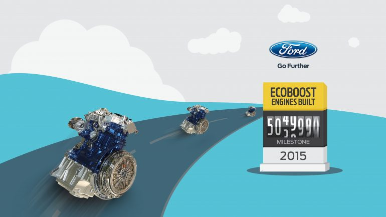 Ford Builds 5 Millionth EcoBoost Engine