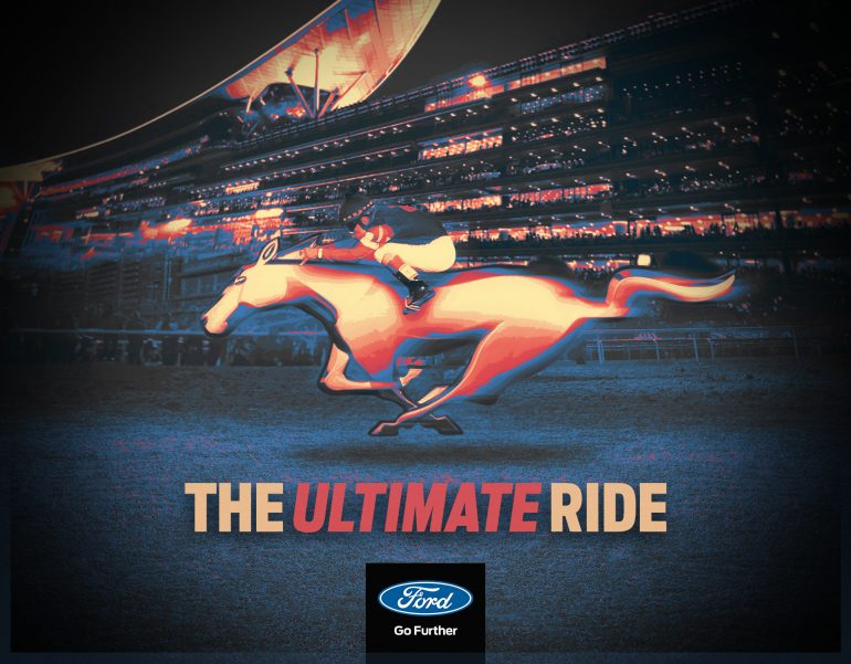 Mustang Dubai World Cup 2016