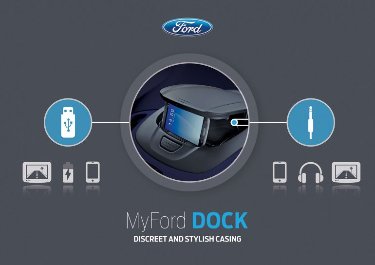my ford dock infographic design