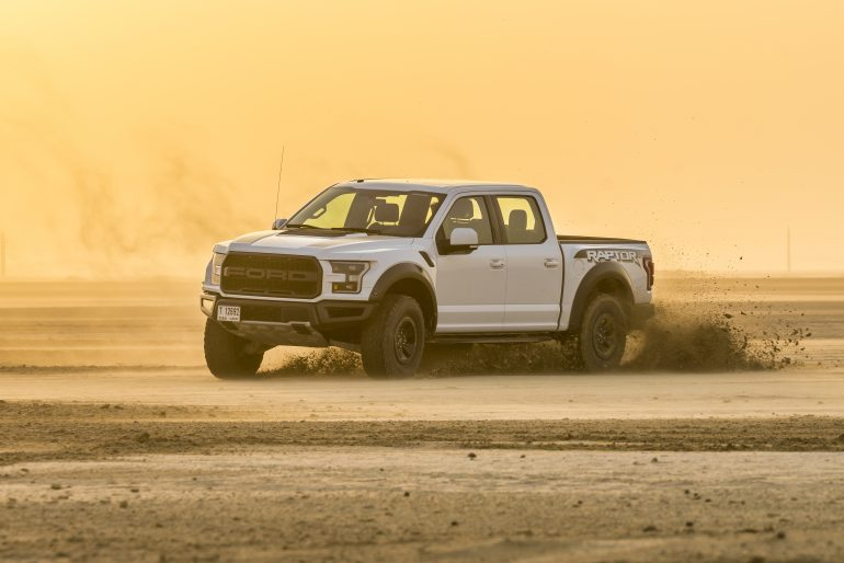 Ford F-150 Launch Photography - Abu Dhabi Desert
