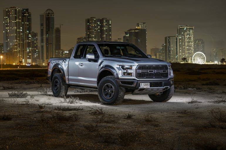 Ford F-150 Light Paint Photography