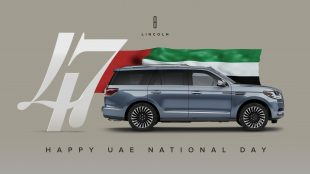 Lincoln celebrates UAE national day