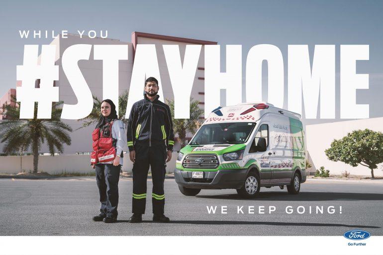 #STAYHOME - Ford & Dubai Ambulance Campaign